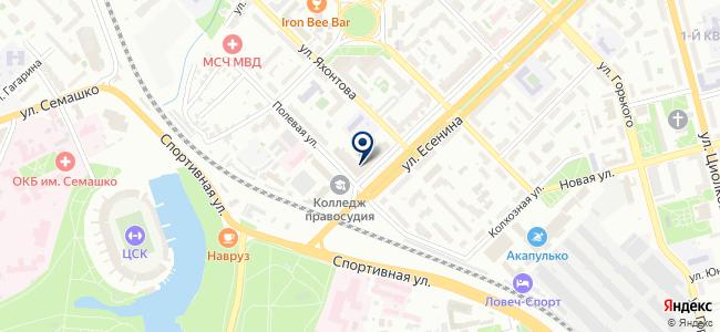 Шайба на карте