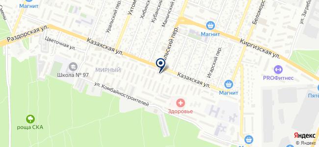 LLCC на карте
