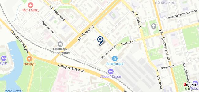 Комрэл Сервис, ООО на карте