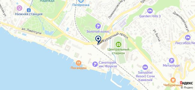 Домостроитель-Сочи, ООО на карте