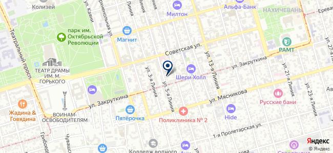 Вернау, ООО на карте