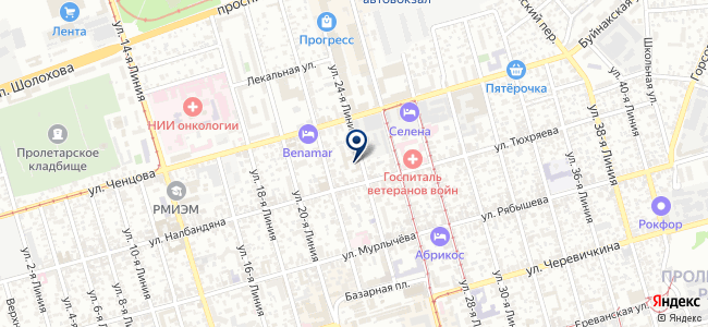 Инженерное оборудование, ЗАО на карте