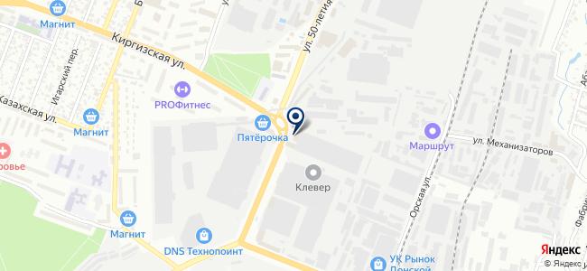 Южный Скобяной Двор, ООО на карте