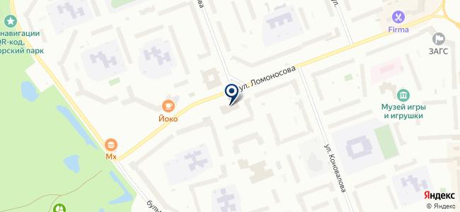 Архангельская сбытовая компания, ОАО на карте