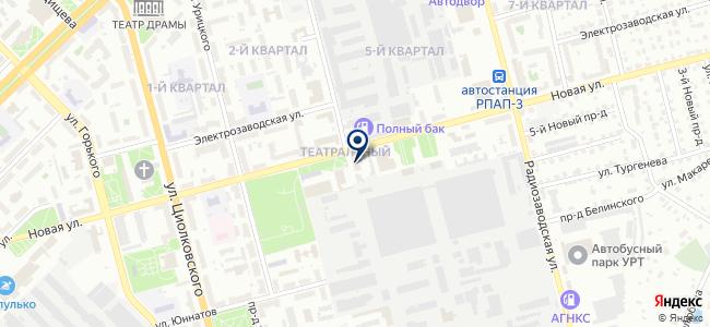 Тера-АВМ на карте