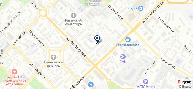 ЭнергоУчетСервис на карте