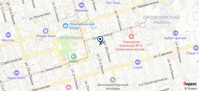 ЮжГеоСеть, ООО на карте