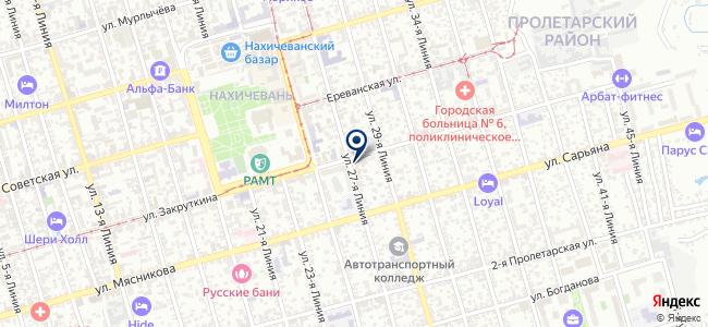 Геоцентр, ООО на карте