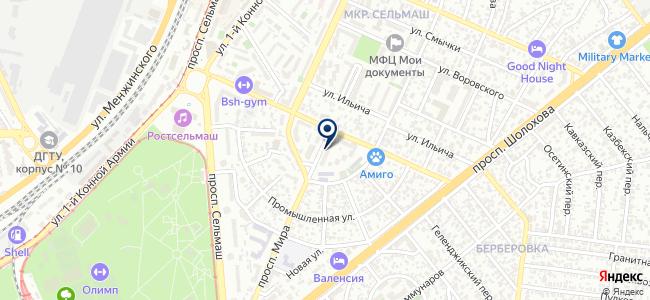 РИЦ на карте