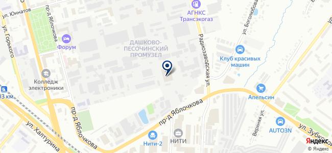 Первая приборная фабрика, ООО на карте