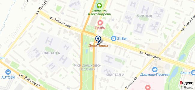 Магазин бытовой техники и электроники на карте