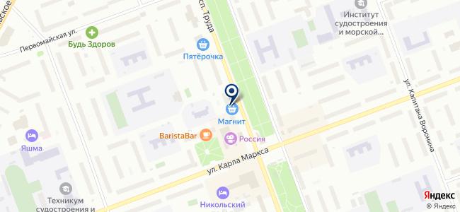 Стеллс на карте
