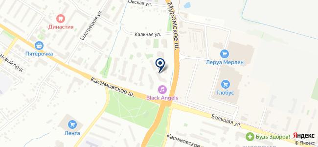 Штепсель на карте