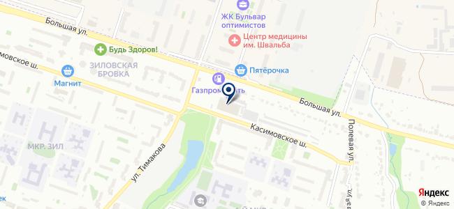 Авто-Электрон на карте