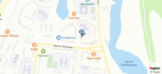 Simка на карте