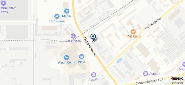 ЛЕКС, ООО на карте