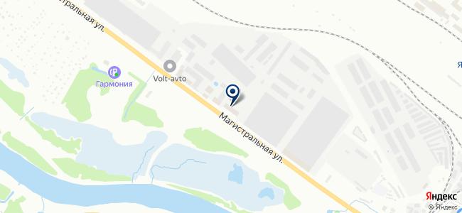 Альфатех на карте