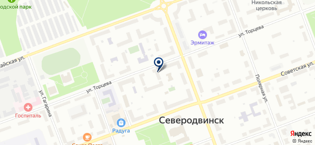 ЛиОком на карте
