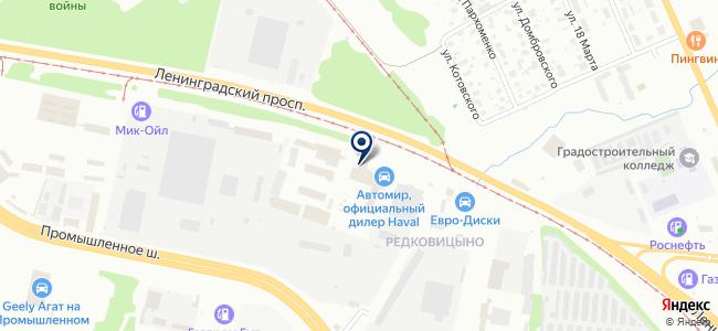 Фазис, ООО на карте