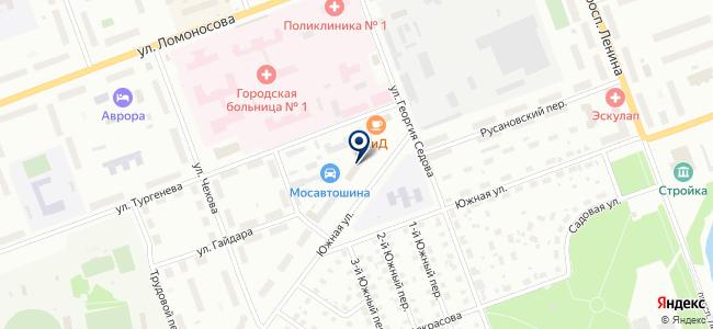 Северодвинский инженерно-технический центр, ООО на карте
