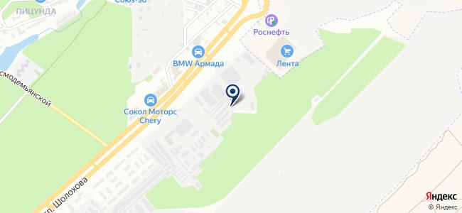 Санд, ООО на карте