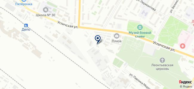 MotorWay на карте