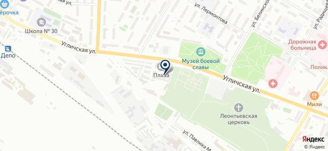 На Угличской, автотехцентр на карте