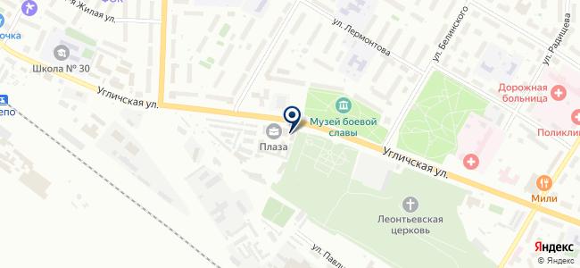 СветДизайнСервис, ООО на карте