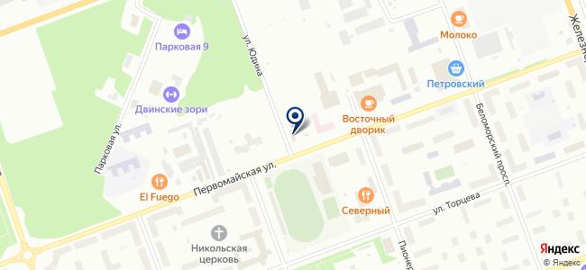 Север-Союз, ЗАО на карте