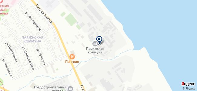 Нерехтский завод тепловой техники, ООО на карте