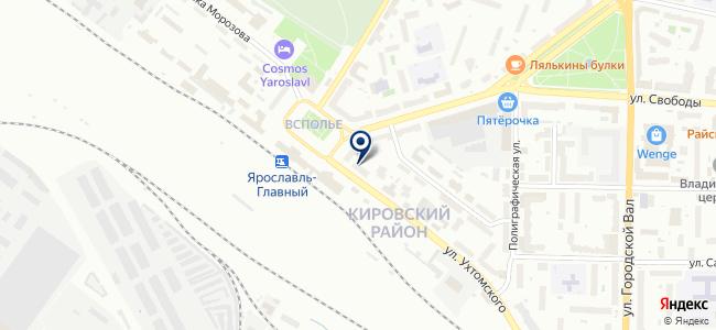 ВсеИнструменты.ру, торговая компания на карте