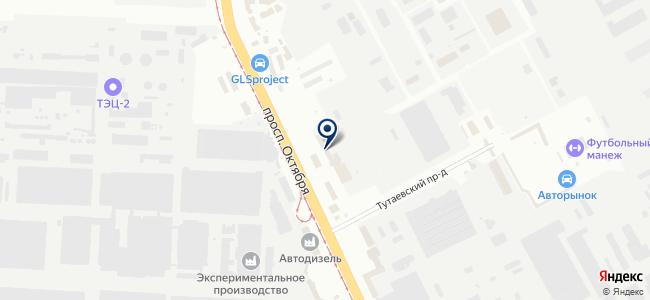 Авангард-Электро на карте