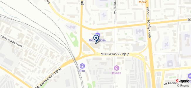 ЭвС на карте