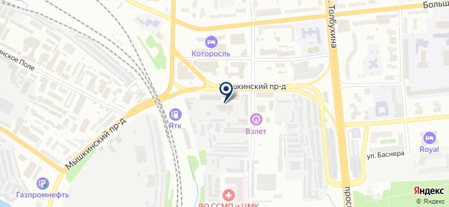 ПрофТехсервис на карте