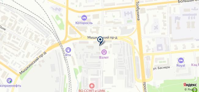 Завод металлических изделий, ООО на карте