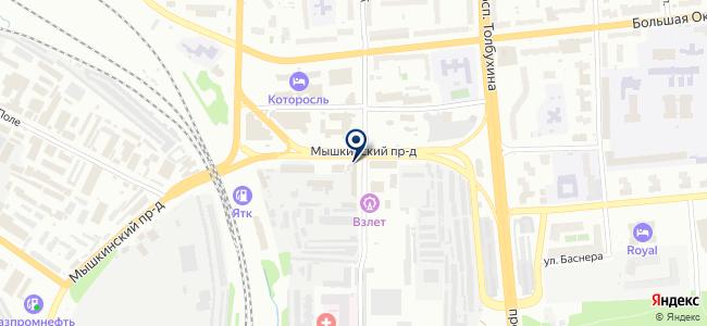 Электро Маркет, ЗАО на карте