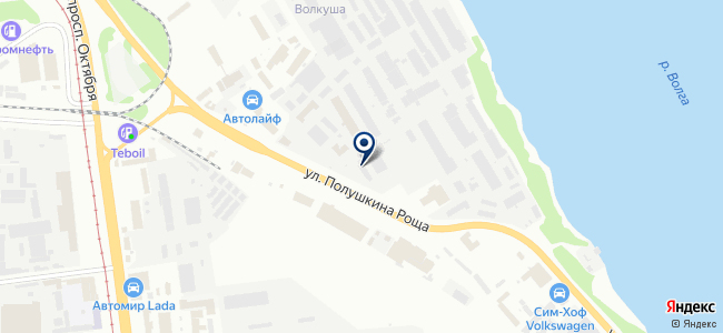 Паритет-Дизель на карте