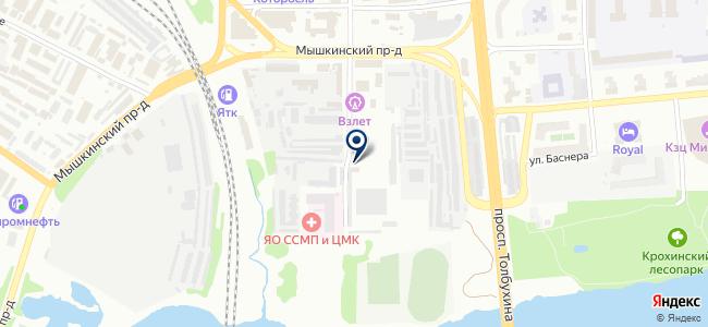 Мир Установок на карте