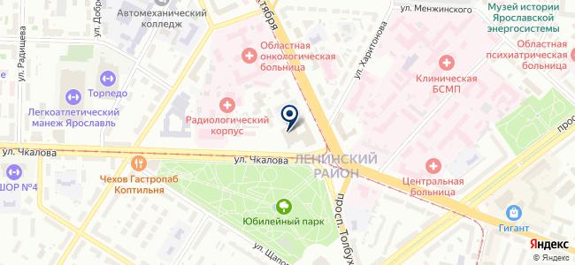Норд-Сервис, торговая компания на карте