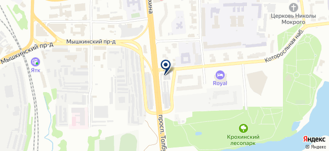 Автолайт на карте