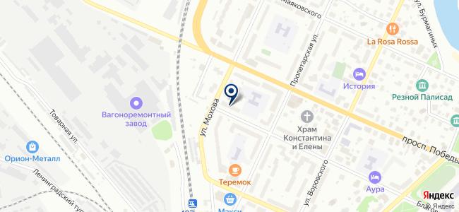 Севзапэлектромонтаж на карте