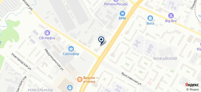 Регион-инструмент на карте