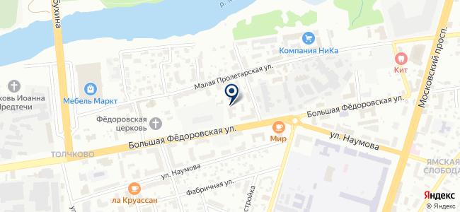 Проектсервис, ООО на карте