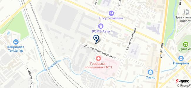 Вологодский оптико-механический завод, ОАО на карте