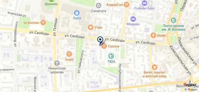 Комфортстрой, ООО, торгово-строительная компания на карте