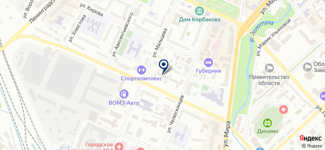 Кайрос, ООО на карте