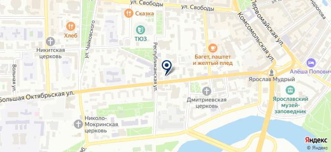 Промсвет на карте