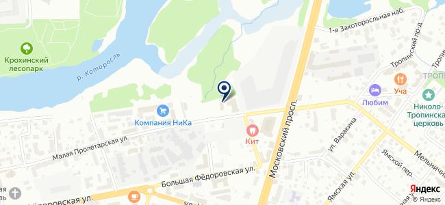 Яргортранс, МУП на карте