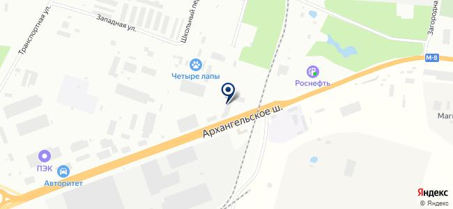Северный экспресс на карте