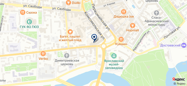 Магазин электрорадиотоваров на карте